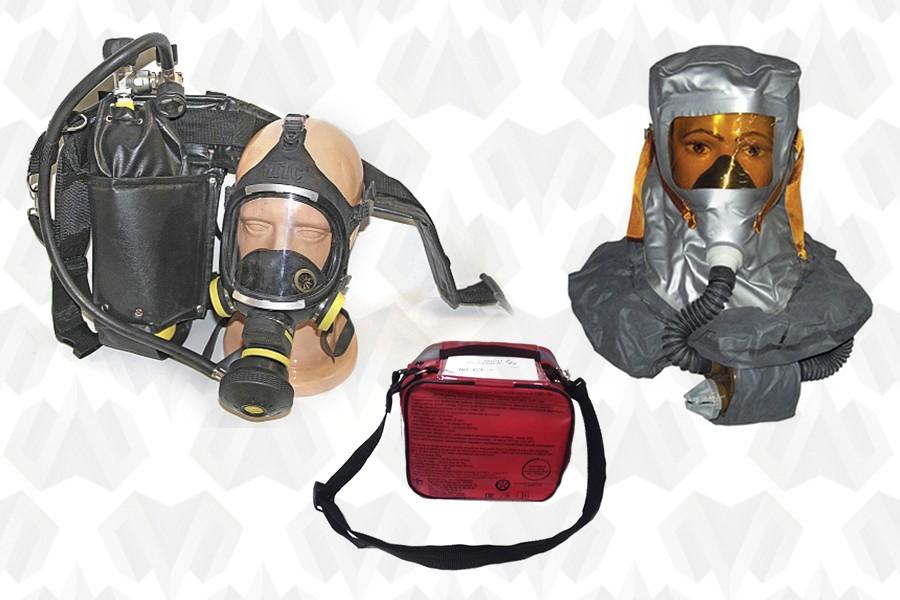 Аварийно-дыхательные устройства и самоспасатели