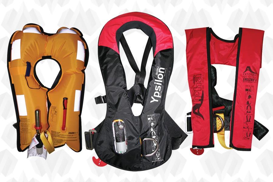 Спасательные жилеты надувные, соответствующие Европейским стандартам и имеющие маркировку знака СЕ