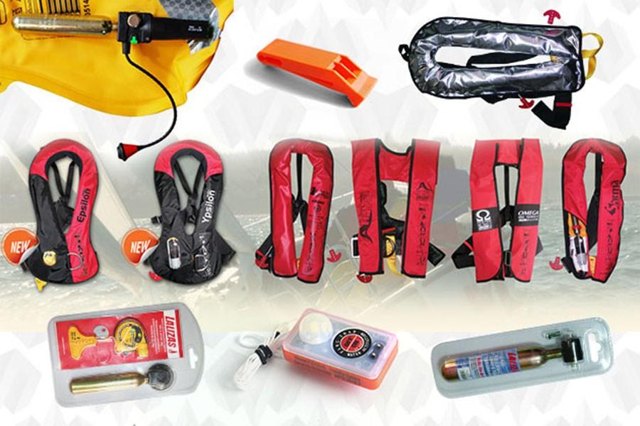 Комплекты для перезарядки жилетов и аксессуары
