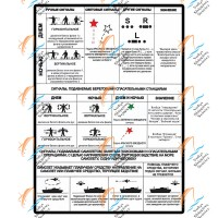 Таблица спасательных сигналов