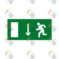 Указатель двери эвакуационного выхода (левосторонний)